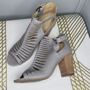 Chinese Laundry Cutout Cage Open Toe Sandals